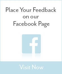 Place your feedback on Facebook